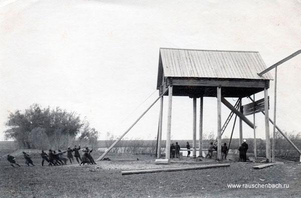 Die Aufstellung von Pumpstation