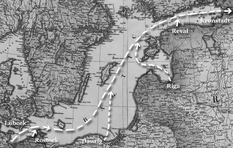 Немецкие колонисты на пути в Кронштадт