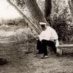 Vladimir beim Teich-1