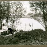 Vladimir beim Teich-2