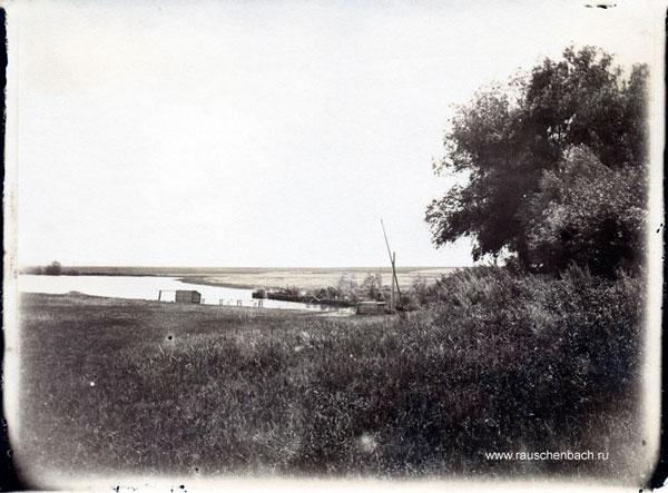 Teich und Brunnen, 1900